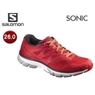 SALOMON/サロモン 【在庫限り】L39355100 FOOTWEAR SONIC 【26.0】 (MATADOR/WHITE/FLAME)