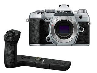 OLYMPUS/オリンパス OM-D E-M5 Mark III ボディ(シルバー)+ECG-5 専用外付けグリップセット 【em5mk3set】 【em5mk3】