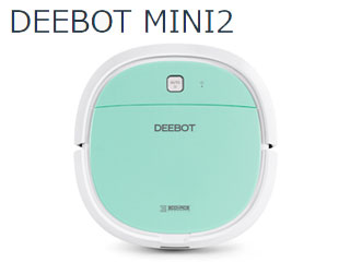 【nightsale】 ECOVACS/エコバックス DA3G ロボット掃除機 DEEBOT MINI2 (ミントグリーン)