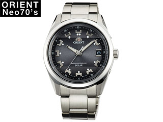 ORIENT/オリエント 【正規品】WV0061SE 腕時計 ソーラー電波 Neo70's 【MENS/メンズ】【グレー】