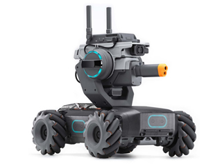 DJI CP.RM.00000102.01 RoboMaster S1 教育インテリジェントロボット プログラミング/AI/FPV/バトル
