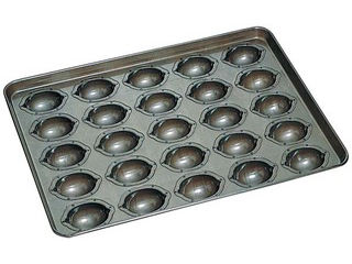 CHIYODA/千代田金属工業 シリコン加工 レモンケーキ型 天板(25ヶ取) 【lemoncake】【洋菓子】【焼き菓子】