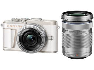 OLYMPUS/オリンパス PEN E-PL10 EZ ダブルズームキット(ホワイト) ミラーレス一眼カメラ