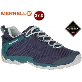 MERRELL/メレル M36477 カメレオン7 ストーム ゴアテックス ハイキングシューズ メンズ【27.0cm】(ネイビー/ティール)