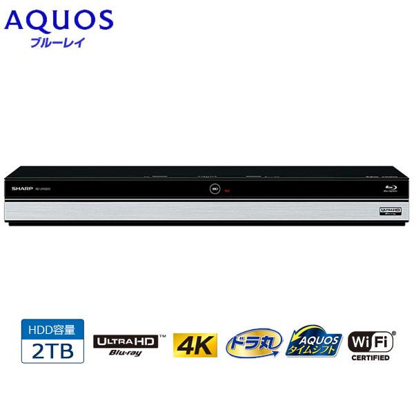 SHARP/シャープ BD-UW2200 AQUOS/アクオスブルーレイ 2TB