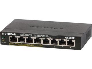 NETGAER/ネットギア・インターナショナル ギガビット8ポート Layer2アンマネージスイッチ GS308P-100JPS