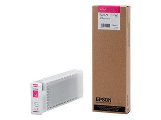 EPSON/エプソン SureColor用 インクカートリッジ/700ml(マゼンタ) SC2M70