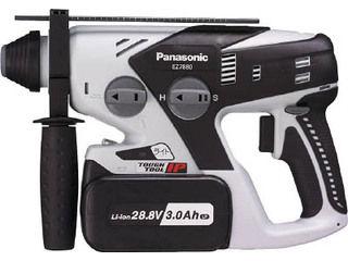 Panasonic/パナソニック 28.8V充電ハンマードリル EZ7880LP2S-B