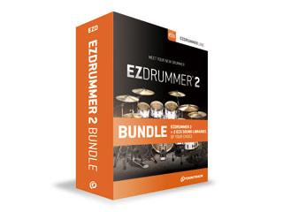 TOONTRACK/トゥーントラック 【納期3月上旬予定】EZ DRUMMER 2 BUNDLE(イージードラマー 2・バンドル) ソフトウェア ドラム音源 【TT053】