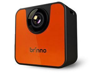 Brinno/ブリンノ Wi-Fiダイレクト式タイムラプスカメラ オレンジ&ブラック TLC120