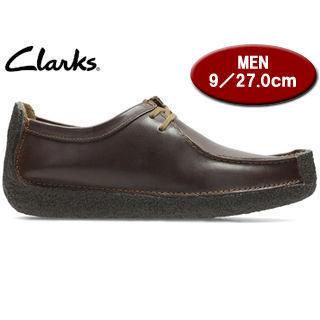Clarks/クラークス 26109038 NATALIE ナタリー メンズ 【JP27.0/UK9.0】(チェスナットレザー)