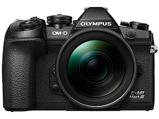 【お得なセットもあります】 OLYMPUS/オリンパス OM-D E-M1 Mark III 12-40mm PROレンズキット ミラーレス一眼カメラ 【25,000円分UCギフトカードプレゼント対象商品!5.12(火)迄】