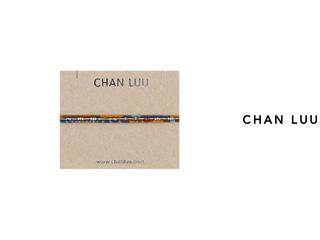 CHAN LUU/チャンルー ストーンビーズミックス プルタイブレスレット BSM-1690(PICTURE JASPER MIX) チャンルーオリジナル巾着袋付き!