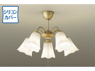 DAIKO/大光電機 DXL-81268 LEDシャンデリア (ゴールドアンティーク色塗装)【~8畳】※ランプ付