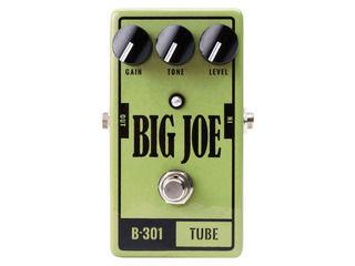 Big Joe/ビッグジョー B-301 【BIG JOEエフェクター】 TUBE オーバードライブ 【BJEFF】