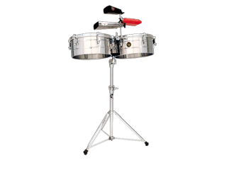LP LP257-S LP Tito Puente Timbales 14″ & 15″ Shells Stainless Steel【ティンバレス】