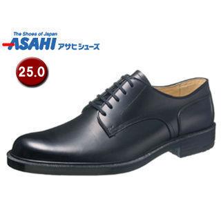 【nightsale】 ASAHI/アサヒシューズ AM33211 通勤快足 TK33-21 ビジネスシューズ 【25.0cm・3E】 (ブラック )