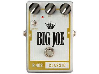 Big Joe/ビッグジョー R-402 【BIG JOEエフェクター】 CLASSIC オーバードライブ/ディストーション 【BJEFF】