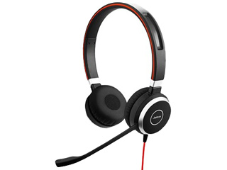 GNオーディオ PC向けステレオヘッドセット(両耳タイプ) Jabra EVOLVE 40 UC Stereo 6399-829-209