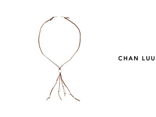 CHAN LUU/チャンルー 淡水パール タッセルネックレス NS-13211(WHITE) チャンルーオリジナル巾着袋付き!