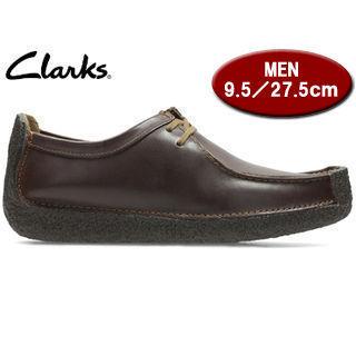 【在庫限り】 Clarks/クラークス 【在庫限り】26109038 NATALIE ナタリー メンズ 【JP27.5/UK9.5】(チェスナットレザー)