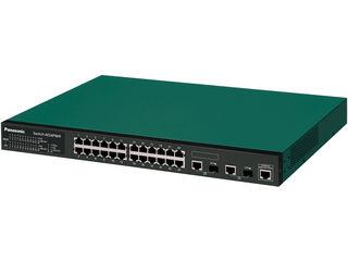 パナソニックESネットワークス PoE対応 24ポートL2スイッチングハブ Switch-M24PWR PN232499