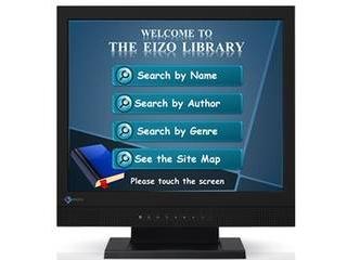 EIZO 17.0型タッチパネル装着カラー液晶モニター DuraVision FDS1721T ブラック FDS1721T-BK