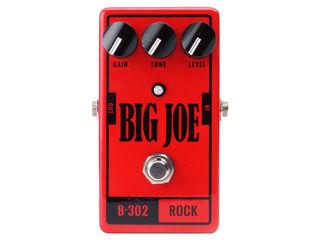 Big Joe/ビッグジョー B-302 【BIG JOEエフェクター】 ROCK ディストーション 【BJEFF】