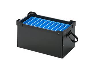 サンワサプライ サンワサプライ プラダン製タブレット・ノートパソコン収納ケース(10台用) PD-BOX1BK