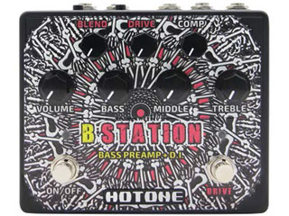 HOTONE/ホットーン B-STATION プリアンプ&DIペダル