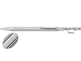 CARAN dACHE/カランダッシュ 【Ecridor/エクリドール】レトロ シルバー ボールペン 0890-487