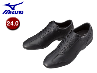 mizuno/ミズノ B1GC1523-09 LD40 CROSS ウォーキングシューズ 【24.0】(ブラック)