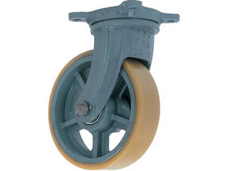 YODONO/ヨドノ 【代引不可】鋳物重荷重用ウレタン車輪自在車付き UHB-g300X100