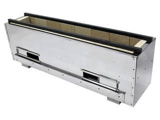 アサヒサンレッド 【代引不可】耐火レンガ木炭コンロ(組立式)NST-6038