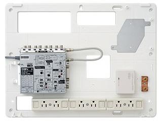 サン電子 COM-K2000H 情報分電盤(ブースタ有り、LANスイッチ無し) 【COM-Hシリーズ】