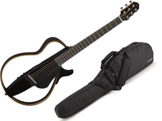 YAMAHA/ヤマハ サイレントギター SLG200S トランスルーセントブラック(TBL) 【専用ソフトケース付】