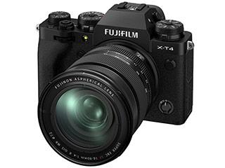FUJIFILM/フジフイルム F X-T4LK-1680-B(ブラック) FUJIFILM X-T4 レンズキット(X-T4/XF16-80mmF4 R OIS WR)