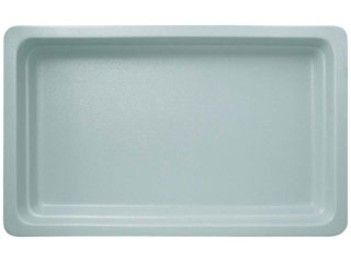 ラックポーセレン ガストロノームパン 角型 人気商品 ピタヤグレー 浅 5%OFF 1