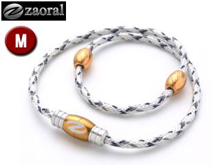 zaoral/ザオラル N12614 リカバリーネックレス 【Mサイズ:50cm】 (ホワイト/ゴールド)