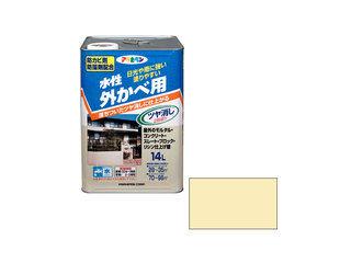 ASAHIPEN/アサヒペン 水性外カベツヤ消し 14L クリーム色