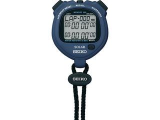 SEIKO セイコー SVAJ005 新作 人気 ソーラー式ストップウォッチ 送料0円 スタンダード 紺