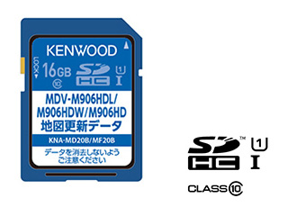KENWOOD/ケンウッド KNA-MD20B 地図更新SDカード