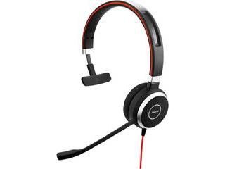 GNオーディオ PC向けモノラルヘッドセット(片耳タイプ) Microsoft Lync認定 Jabra EVOLVE 40 MS Mono 6393-823-109 【納期にお時間がかかります】