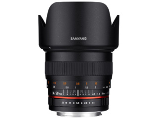 SAMYANG/サムヤン 50mm F1.4 AS UMC ニコンF用 ※受注生産のため、キャンセル不可 【受注後、納期約2~3ヶ月かかります】【お洒落なクリーニングクロスプレゼント!】