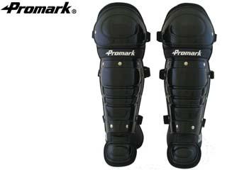 Promark/プロマーク RG-65 一般軟式用キャッチャーレガース (ブラック)