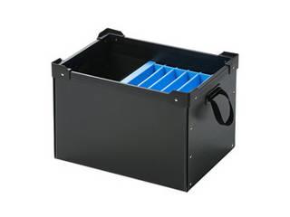 サンワサプライ サンワサプライ プラダン製タブレット・ノートパソコン収納ケース(6台用) PD-BOX3BK