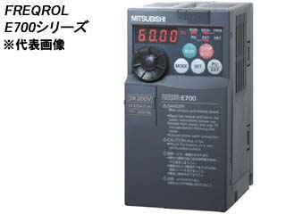 MITSUBISHI/三菱電機 【代引不可】FR-E720-3.7K 簡単・パワフル小形インバータ FREQROL-E700シリーズ (単相100V)
