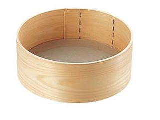 木枠ST張り粉フルイ 尺 お気にいる ギフ_包装