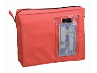 繰り返し使える 経済的な輸送バッグ セキュリティも確保できます CREW'S 人気ブレゼント クルーズ メールバックA4マチツキ MB-500OR オレンジ 割引も実施中