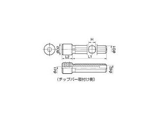 KYOCERA/京セラ 内径加工用ホルダ PH0616-80